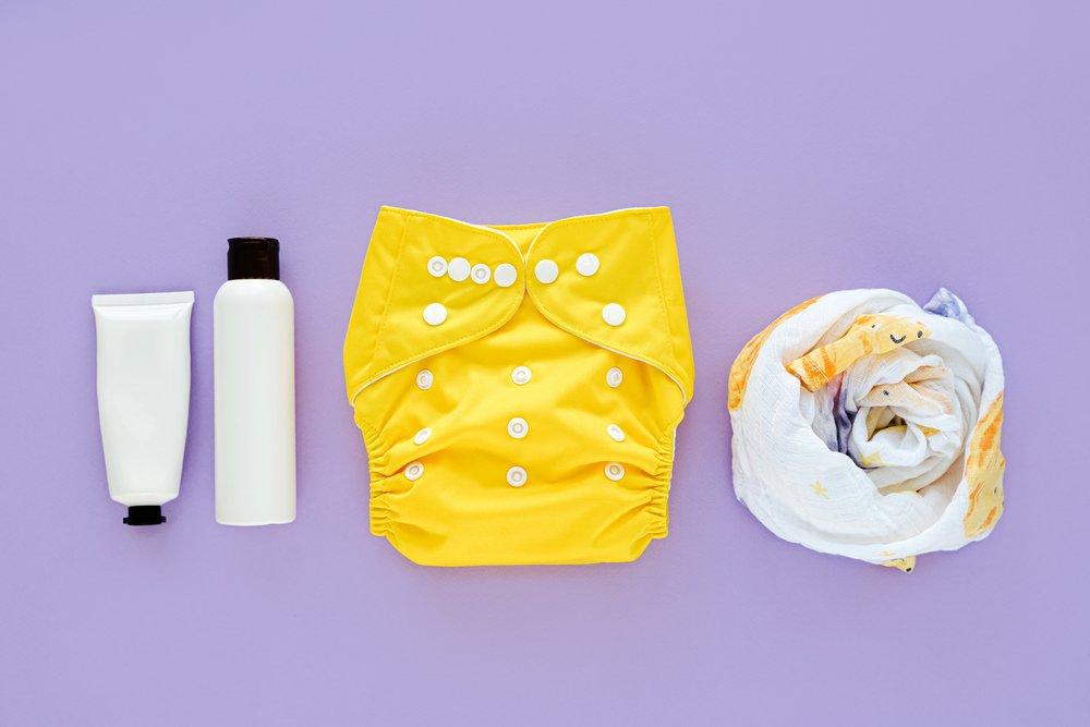 Set of cloth diaper
